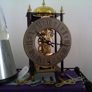 small passing chime skeleton style clock - Clocks