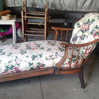 My garage sale find, Chaise Lounge