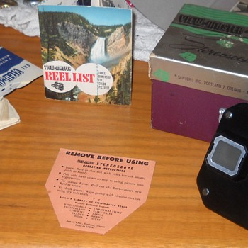 Sawyers Stereoscope Viewmaster