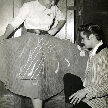 Elvis Presley Candid photo from private collection Jeffrey Schrembs