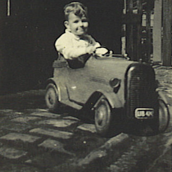 Pedal Car from 1940s