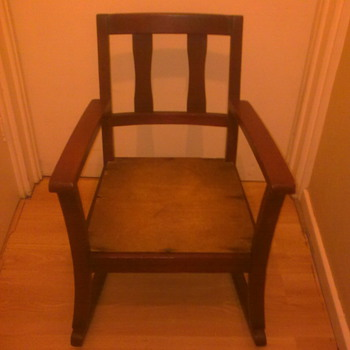 My childhood rocking chair