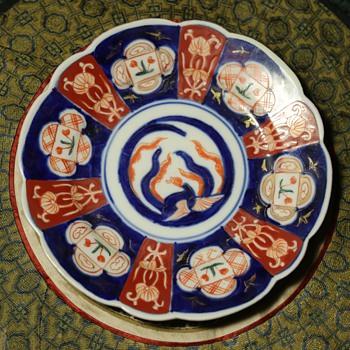 Small Imari Plate - Asian