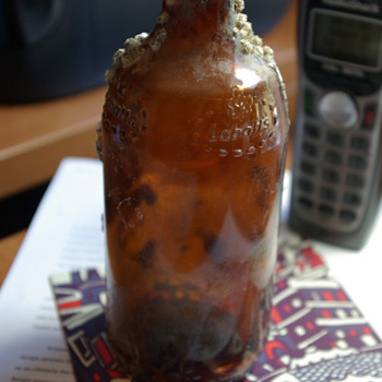 Old Labatts Bottle found while diving.