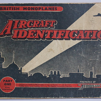 Aircraft Identification - British Monoplanes - Part 1 - Books