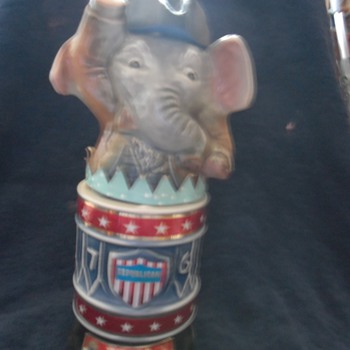 Unopened Republican Decanter 1970's