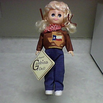 TEXAS GAMBINA DOLL - Dolls