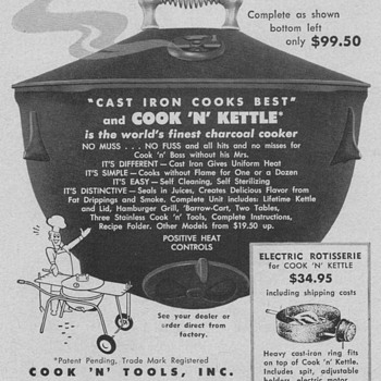 1955 Cook 'N' Kettle Advertisements - Advertising