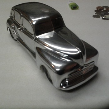 1/25Ford Mercury Promo Diecast mystery chrome car.