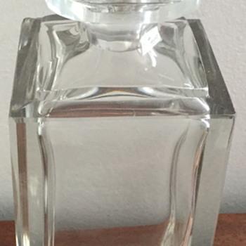 1960 glass decanter.