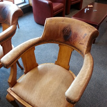 lovely leather chair
