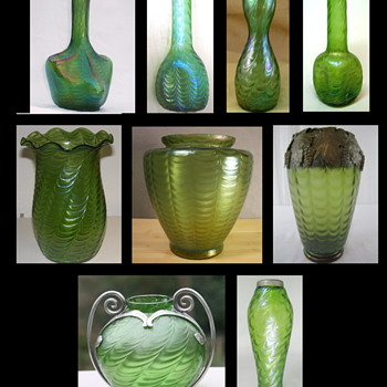 "A Bohemian / Czech Décor ""Draped"" in Mystique, Misconceptions, and Confusion! - Art Glass"