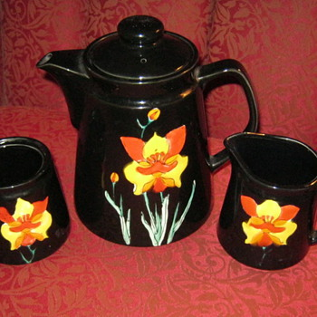 Vintage Inarco Japan Tea Set - Asian