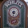 Schlitz Bar Sign with Clock