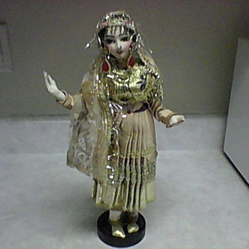 LARGE INDIA DOLL