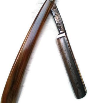 Vintage Solingen straight razor Kayser Ellison Original Razor Sheffield