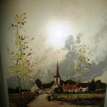 The Village by Paul Emile Lecomte' Jr. - Visual Art