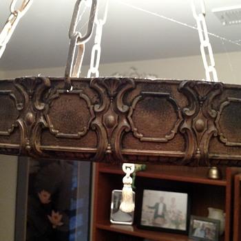 My mom's chandelier