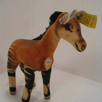 Things are more than OK with this Steiff Okapi 