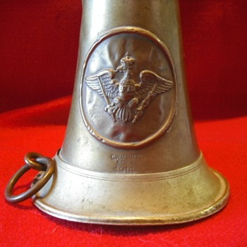 1916 Dated Prussian Bugle - Military and Wartime