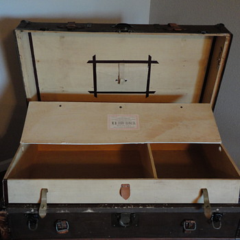 M. M. Secor Steamer Trunk