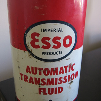 esso oil can - Petroliana