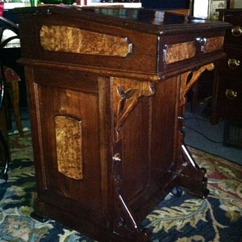 Capt. Davenport Ship Desk (Restoration)