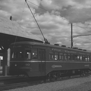 Philadelphia Suburban Transit Company Trolley