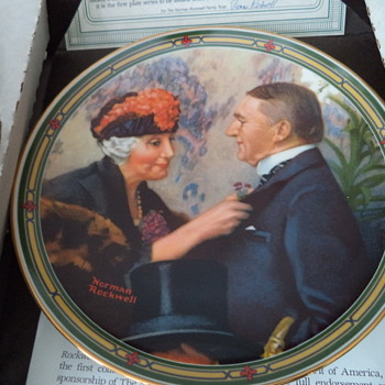 Vintage Plates from the 1980s, 2 of 2 posting - China and Dinnerware