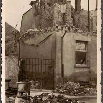 1944 - Family Photo - Mom's Home after Allied Bombing