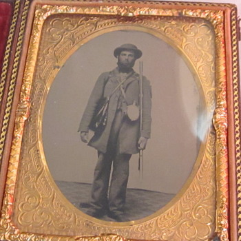 Early War Southern Soldier - Photographs