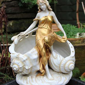 Art Nouveau Shell Figure