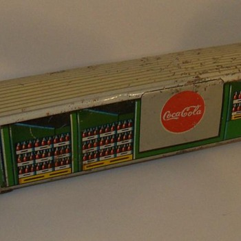 1950's Coca-cola Japan tin bus