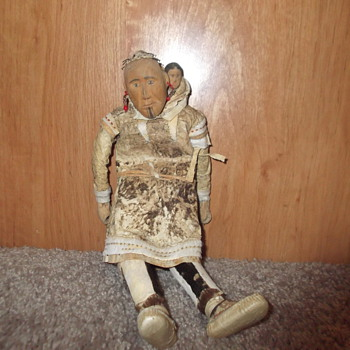 Ethel Washington eskimo doll