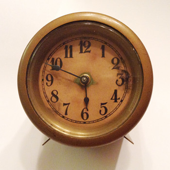 Vintage Brass Clock - Clocks