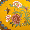 Antique Bright Yellow Japanese Cloisonne Dish, 6 inches (similar to black one)