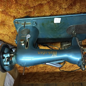 Webster de lux sewing machine