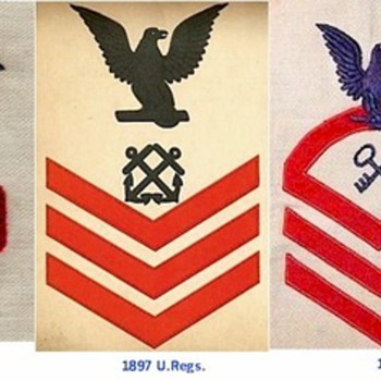 Navy Rating Badge Changes - Military and Wartime