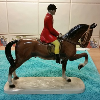 Hertwig horse and rider