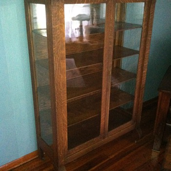 Glass China Cabinet - Furniture