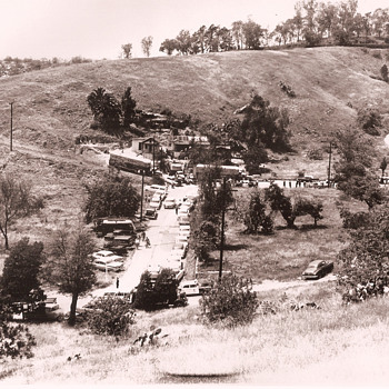 Chavez Ravine, before Dodger Stadium