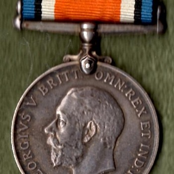 WWI British War Medal and 1914-15 Star