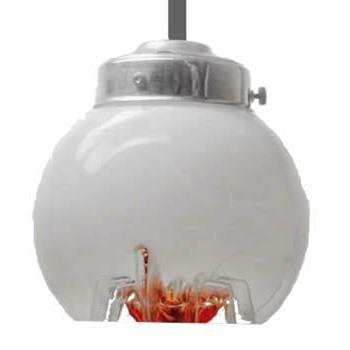 AV Mazzega Murano Glass Pendant Lamps