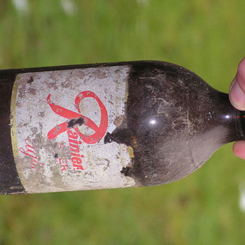 Beer bottle, unopened