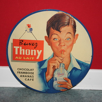 Thony tin sign - Advertising