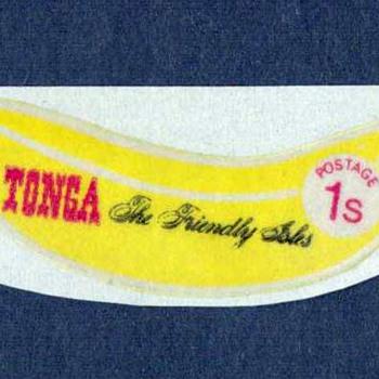 """1972 - Tonga - """"Banana"""" Postage Stamp"""