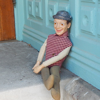 odd doll, dapper gentleman, mystery man - Dolls