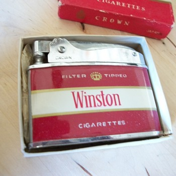 1950's Winston lighter - Tobacciana