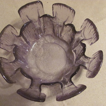 strange bowl? - Glassware