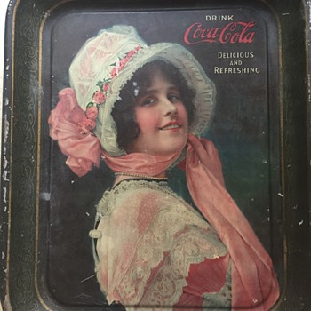 Coca Cola Rectangle Tray... Betty?